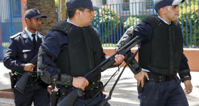 القرطاس بالبرنوصي.. شرطي يطلق النار لاعتقال شخص هاجم الأمن بسلاح أبيض